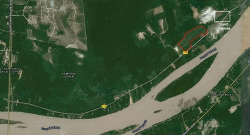 lokasi dari Lebuhraya Tun Razak